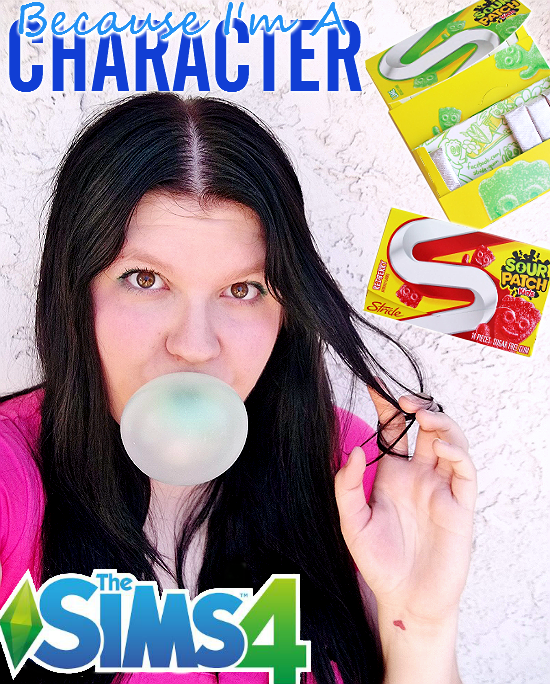 Grab your copy of the all new #TheSims4 in Wamart Sepember, 2, 2014 and  score a free pack of Sour Patch Kids Gum! #CollectiveBias #Shop