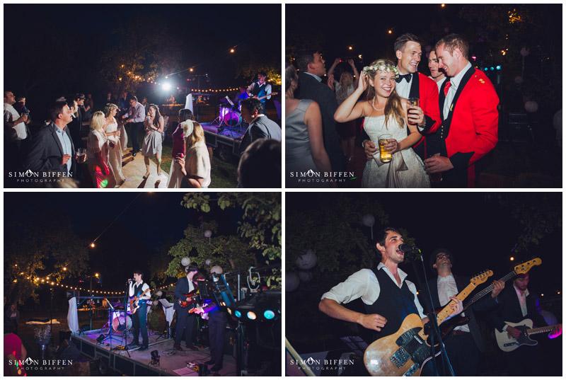 Dancing under the stars wedding Rougmoor Farm