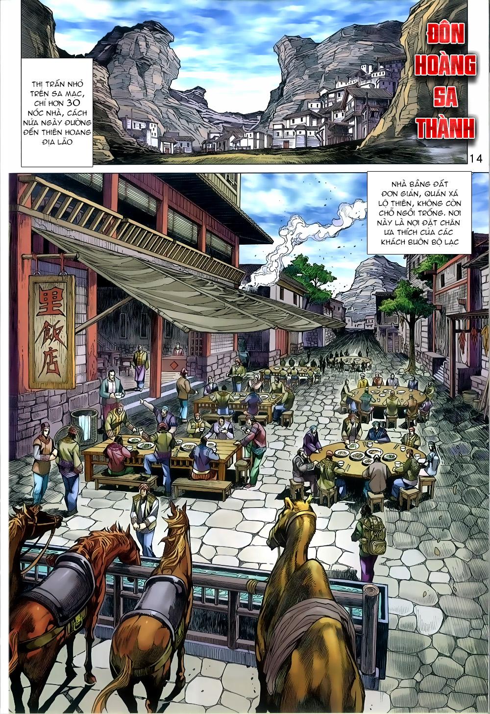 Tân Tác Long Hổ Môn chap 812 Trang 14 - Mangak.info