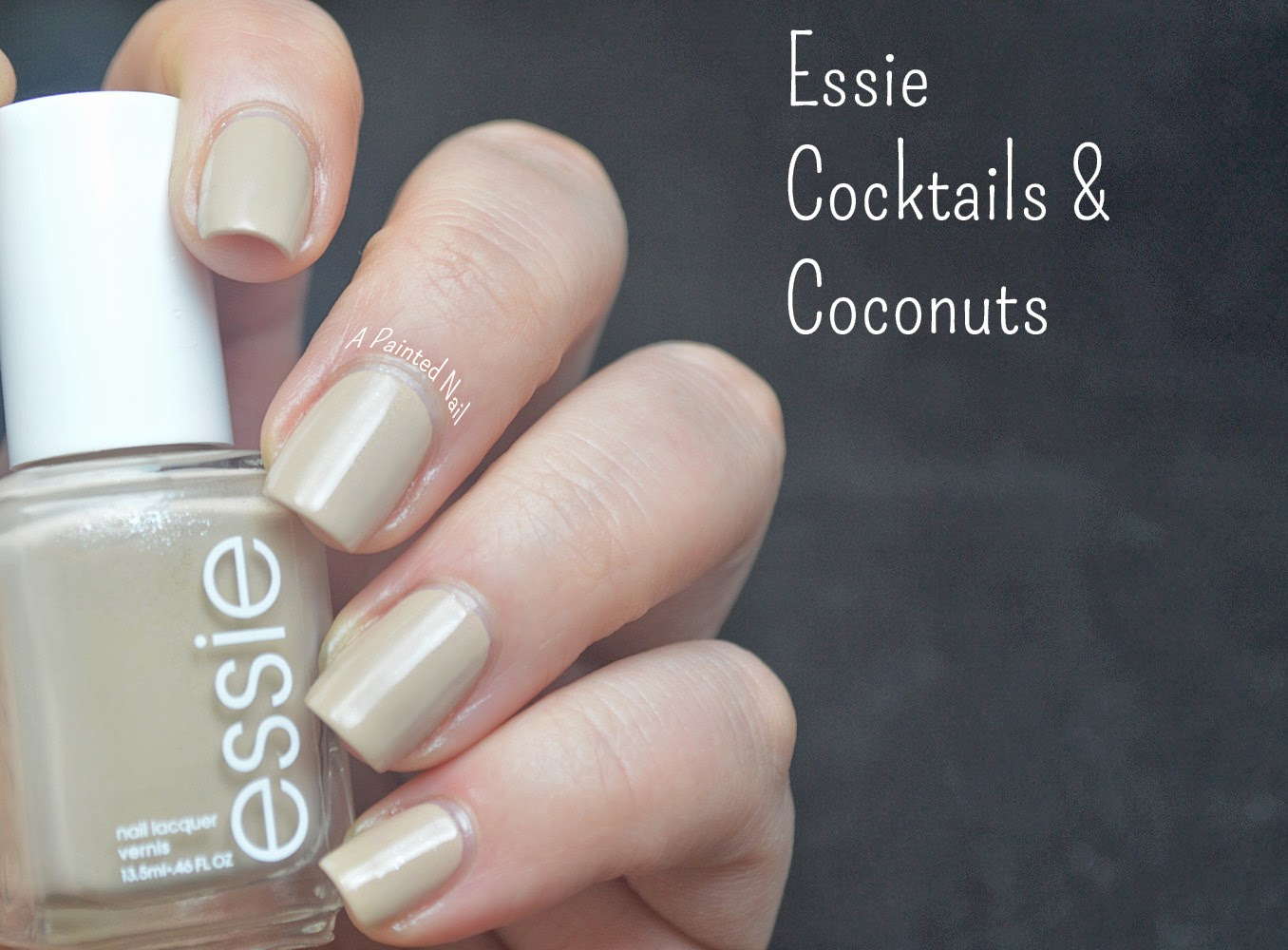 A Painted Nail: Essie Cocktails And Coconuts - Spring/Summer Color Trend