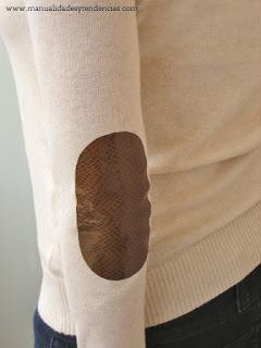 Coderas de cuero / Leather elbow patches / coudières en cuir