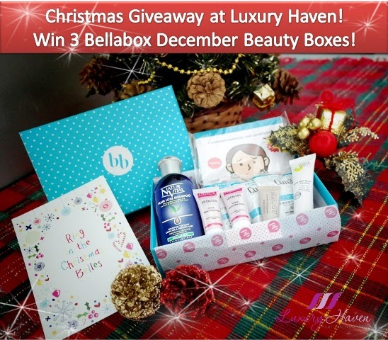 bellabox december ring in christmas belles giveaways