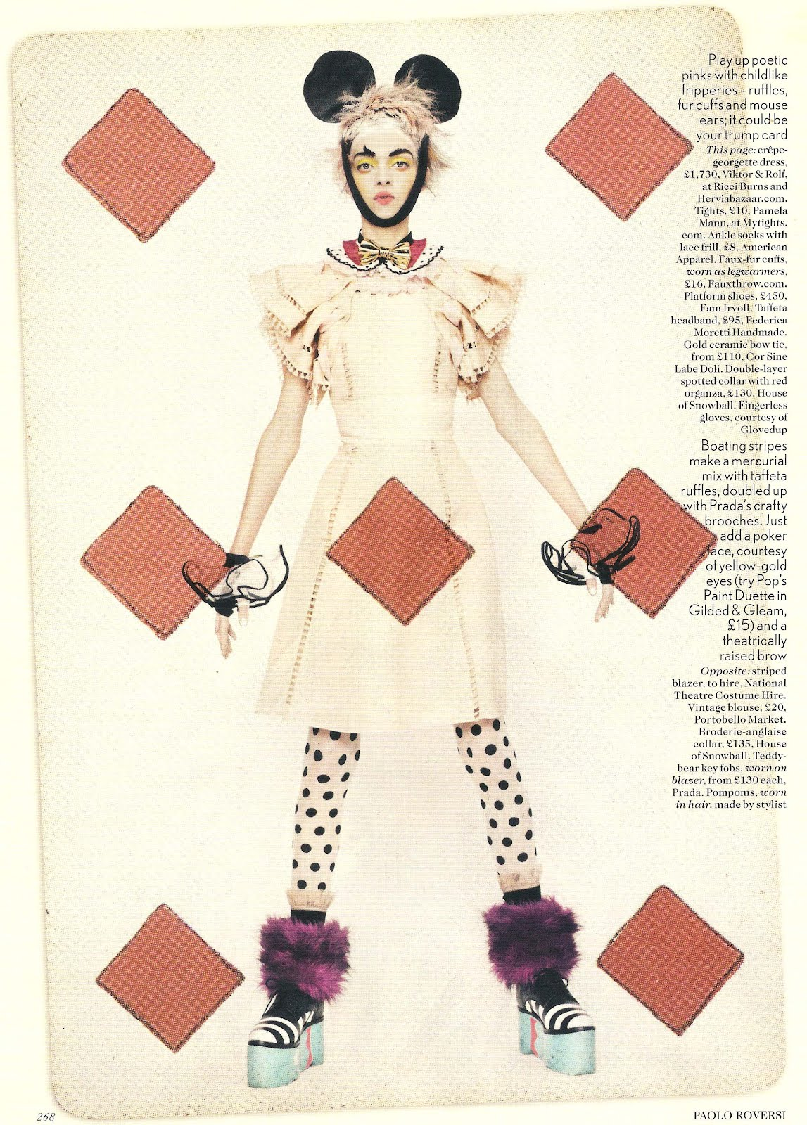 House of Snowball's spread in April 2012 UK Vogue photo 4