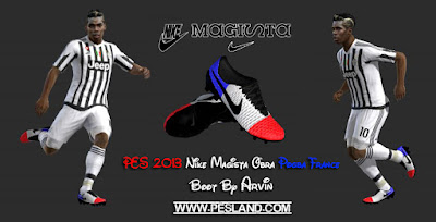 PES 2013 Paul Pogba Nike Magista Obra 'France' Edition Boots by Arvin