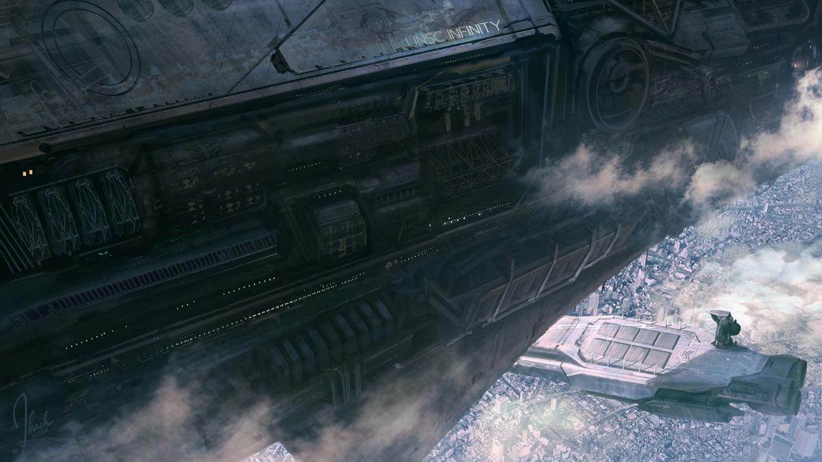 Jbachdesign Halo 4 Live Action Trailer