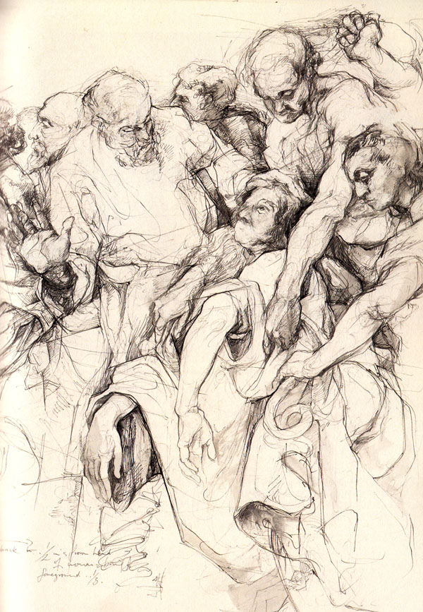 Exhibition Review - Driven to Draw: Twentieth-century Drawings and ...