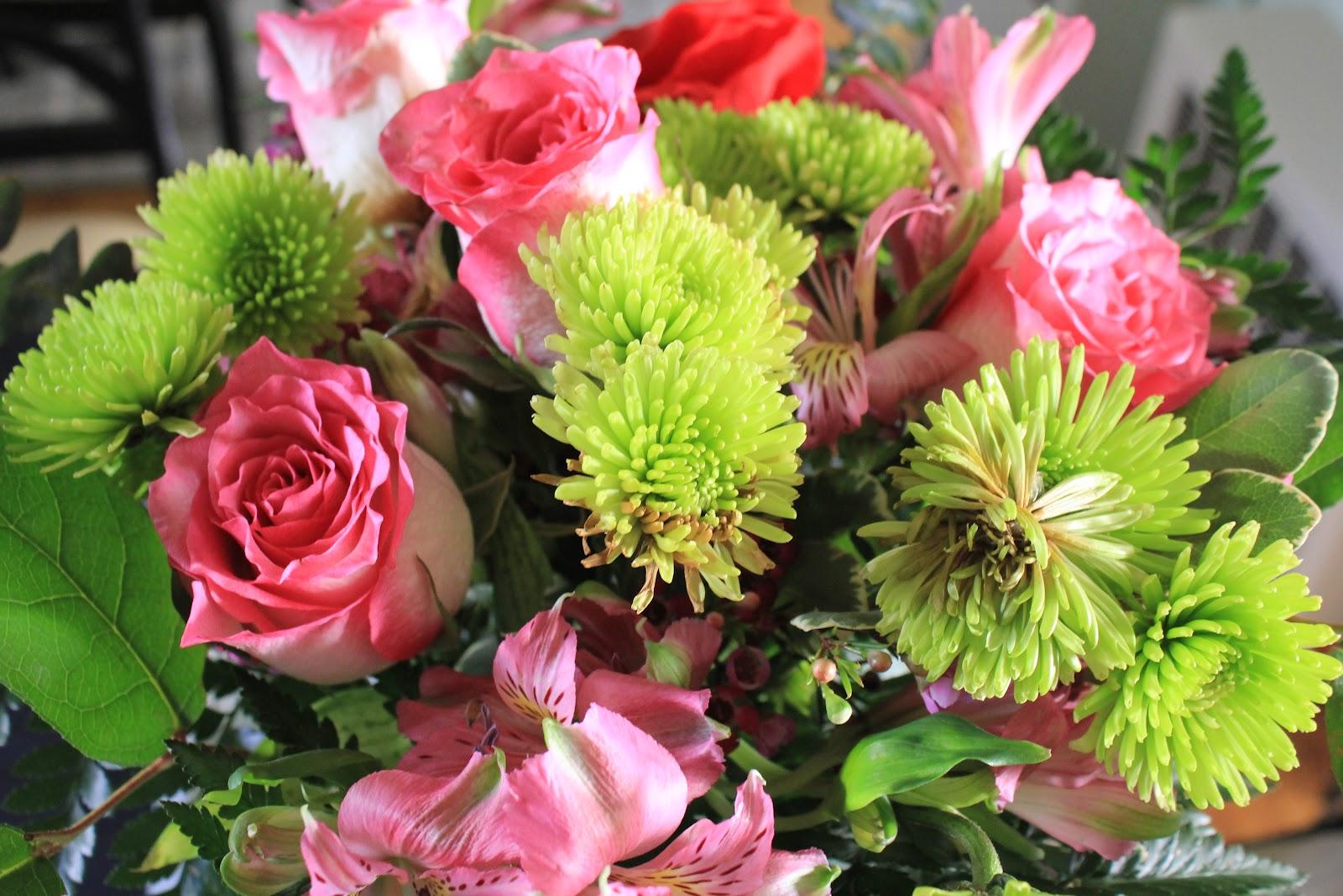 Cup Half Full Birthday Flowers