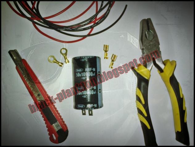 Setelah semua bahan terkumpul pertama2, potong kabel sesuai kebutuhan