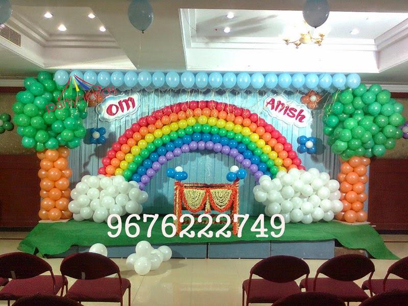 Birthday decorations in vijayawada image inspiration of for 1st birthday stage decoration hyderabad