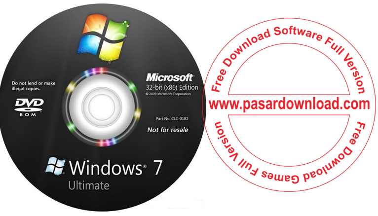 Free Download Windows 7 Ultimate SP1 June 2014 32 Bit and 64 Bit