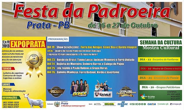 FESTA DA PADROEIRA EM PRATA