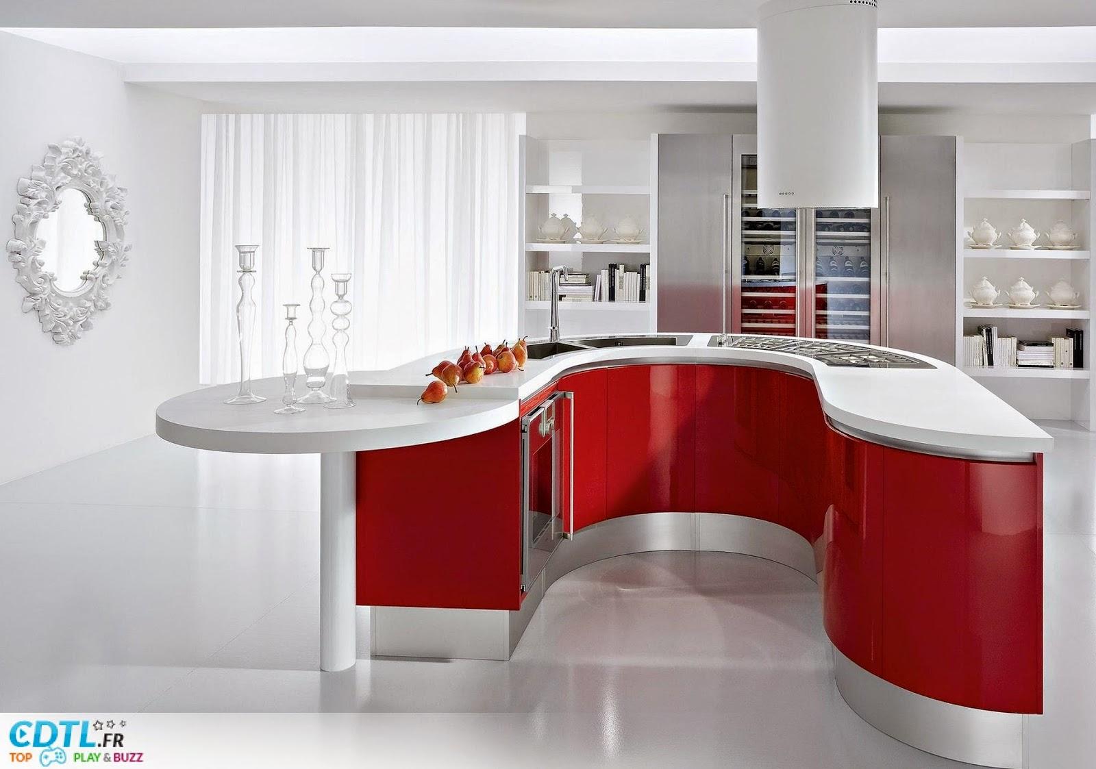 D coration et bricolage cuisine design for Cuisines design 2014