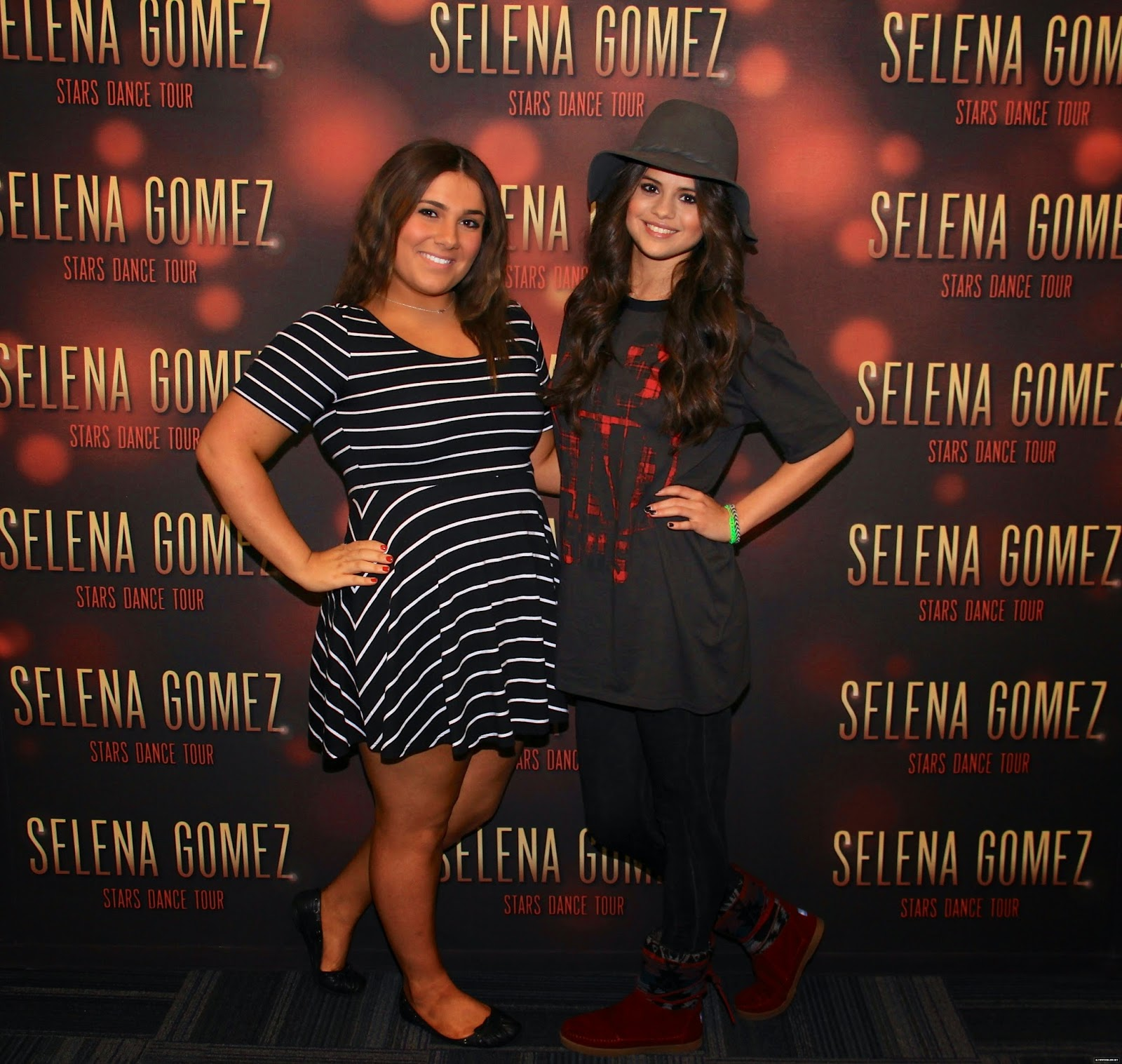 Selena Gomez Style Stars Dance World Tour Meet Greet Auburn Hills