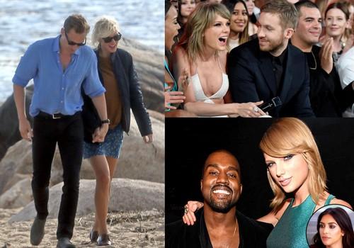 Taylor Swift & Calvin Harris & Kanye West Kavgası