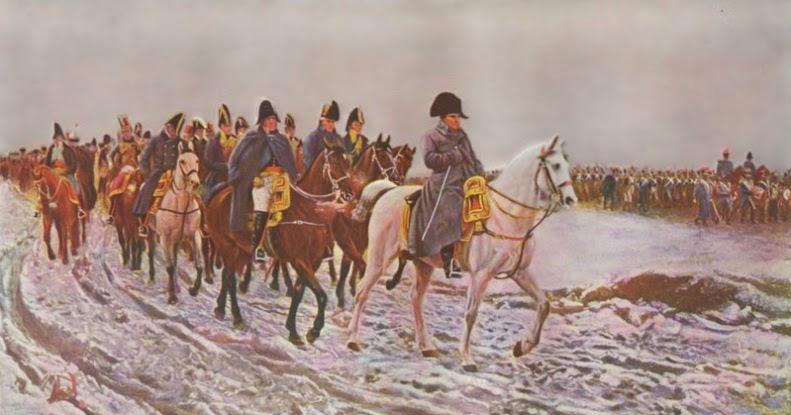 Ejercito de Napoleon Bonaparte en Rusia