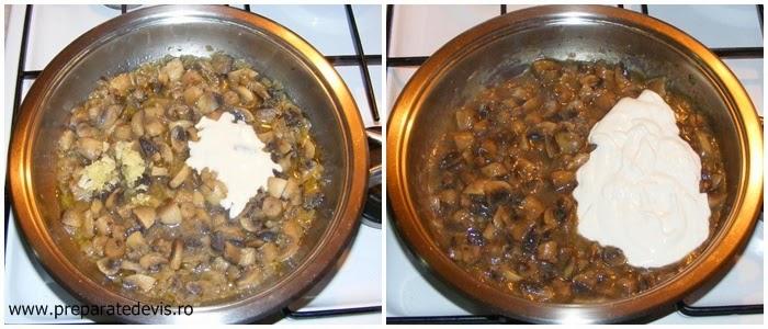 tocanita de ciuperci preparare, ciulama de ciuperci preparare, retete de mancare, retete culinare, preparare mancare de ciuperci, retete cu ciuperci, preparate din ciuperci,