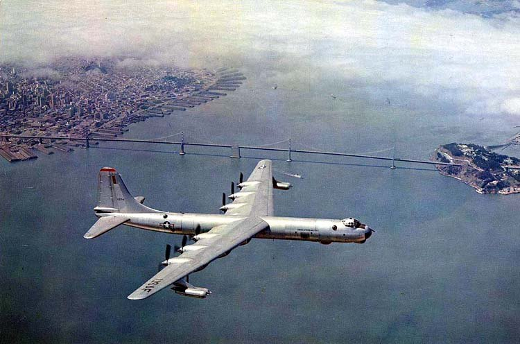 B-36 Peacemaker Bombers Aircraft