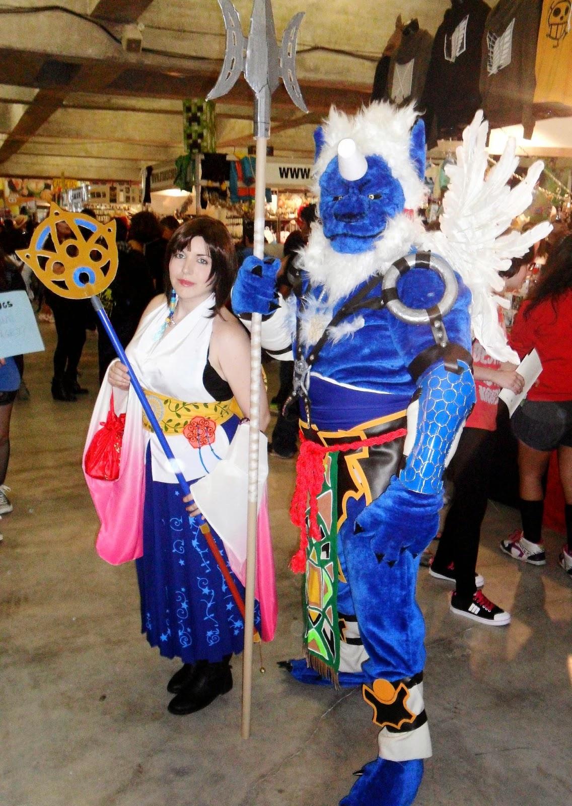 cosplay yuna kimahri