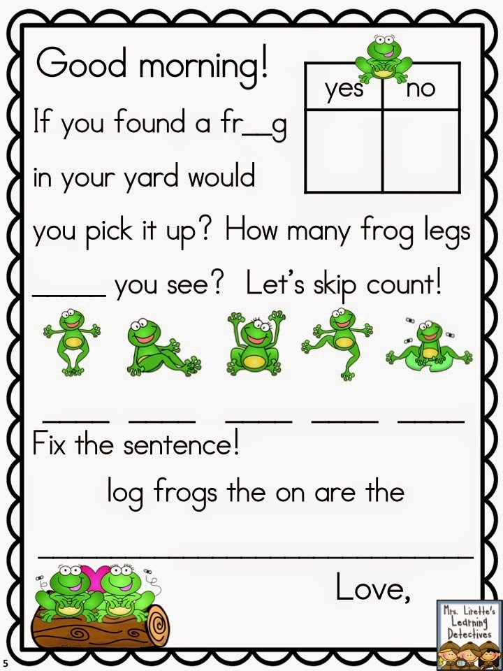 https://www.teacherspayteachers.com/Product/Meaningful-Morning-Messages-for-May-Kindergarten-1837281