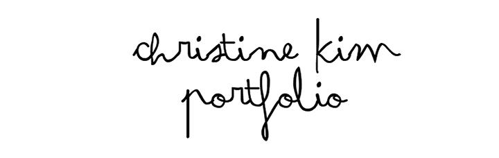 Christine Kim Portfolio