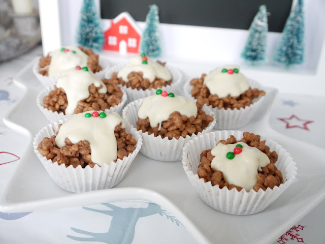 Rice Krispie Cakes Christmas Marshmallows