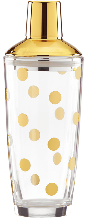 kate spade new york  Gold-Dot Cocktail Shaker