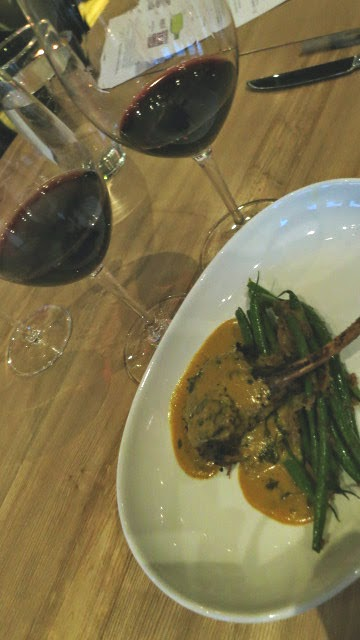 Grilled Lamb Lollipops and French Bean