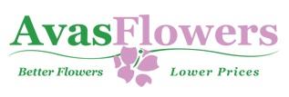 Avas Flowers logo