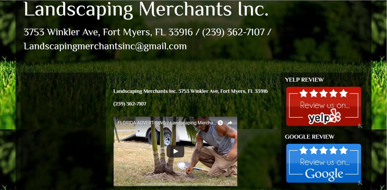 LANDSCAPING MERCHANTS