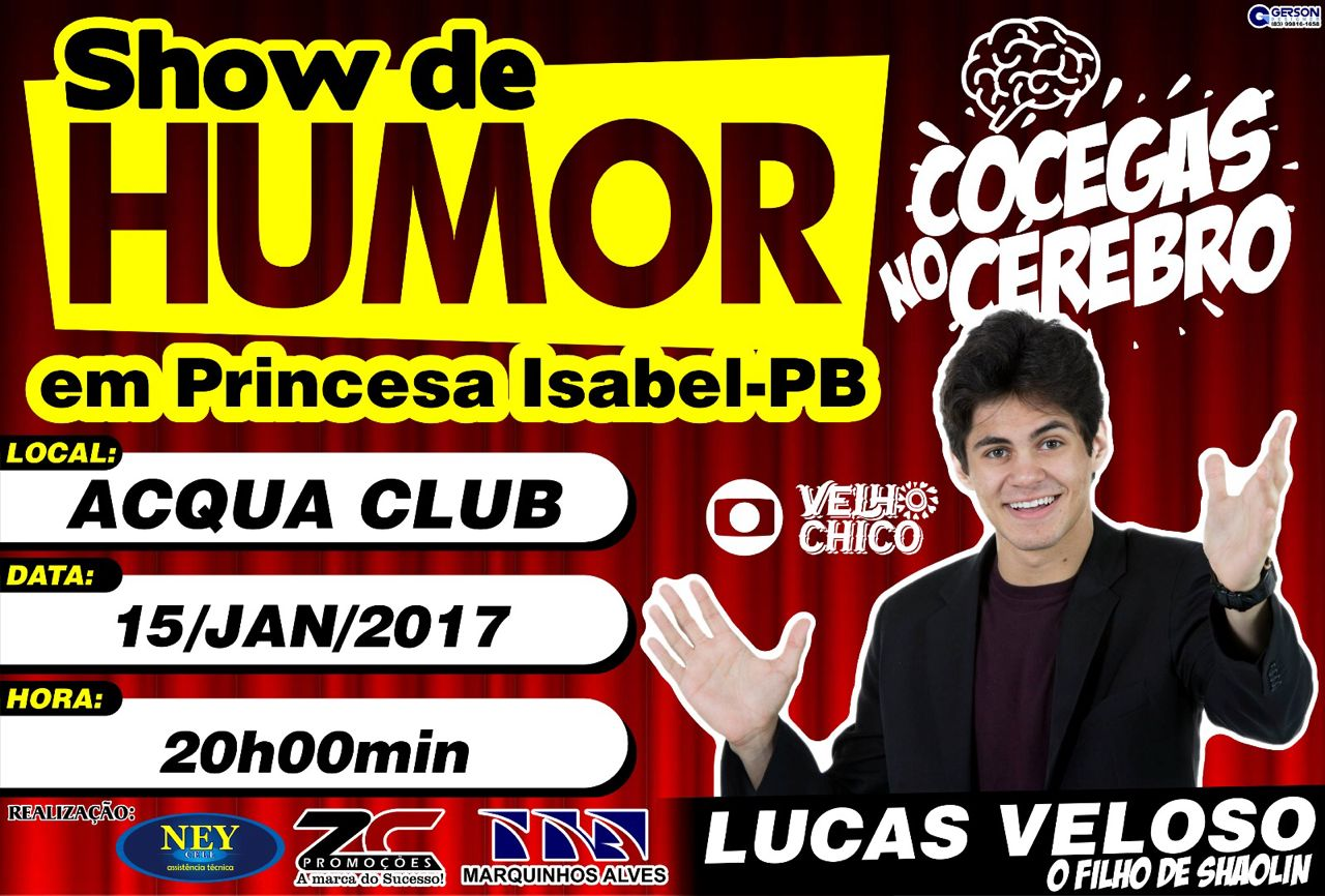 ESTÁ CHEGANDO A HORA!!! SHOW DE HUMOR