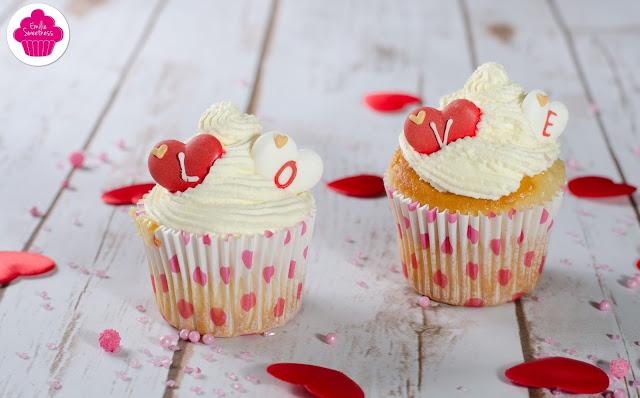 Cupcakes vanille, chantilly caramel avec ou sans rhum