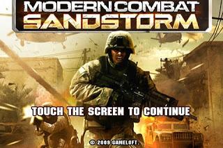 Modern Combat Sandstorm Hvga armv6 HD
