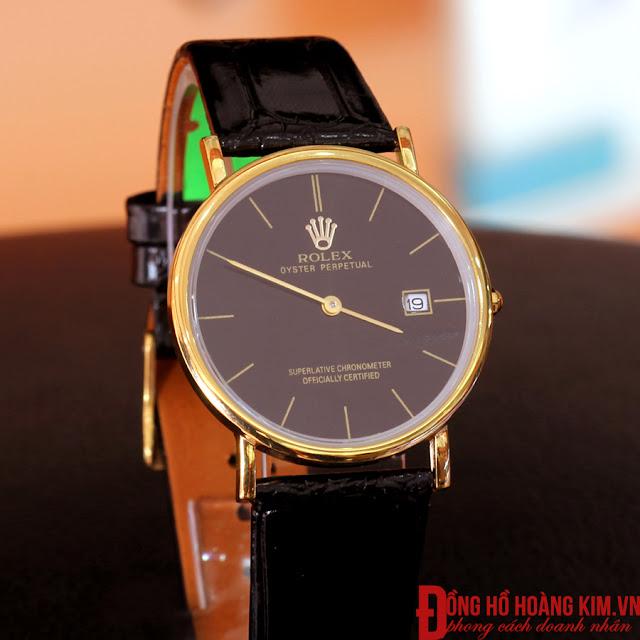 Đồng hồ nam rolex 2 kim R124