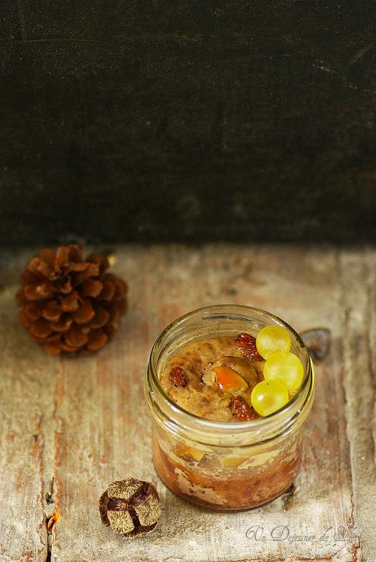 Terrine de canard aux pommes et raisins