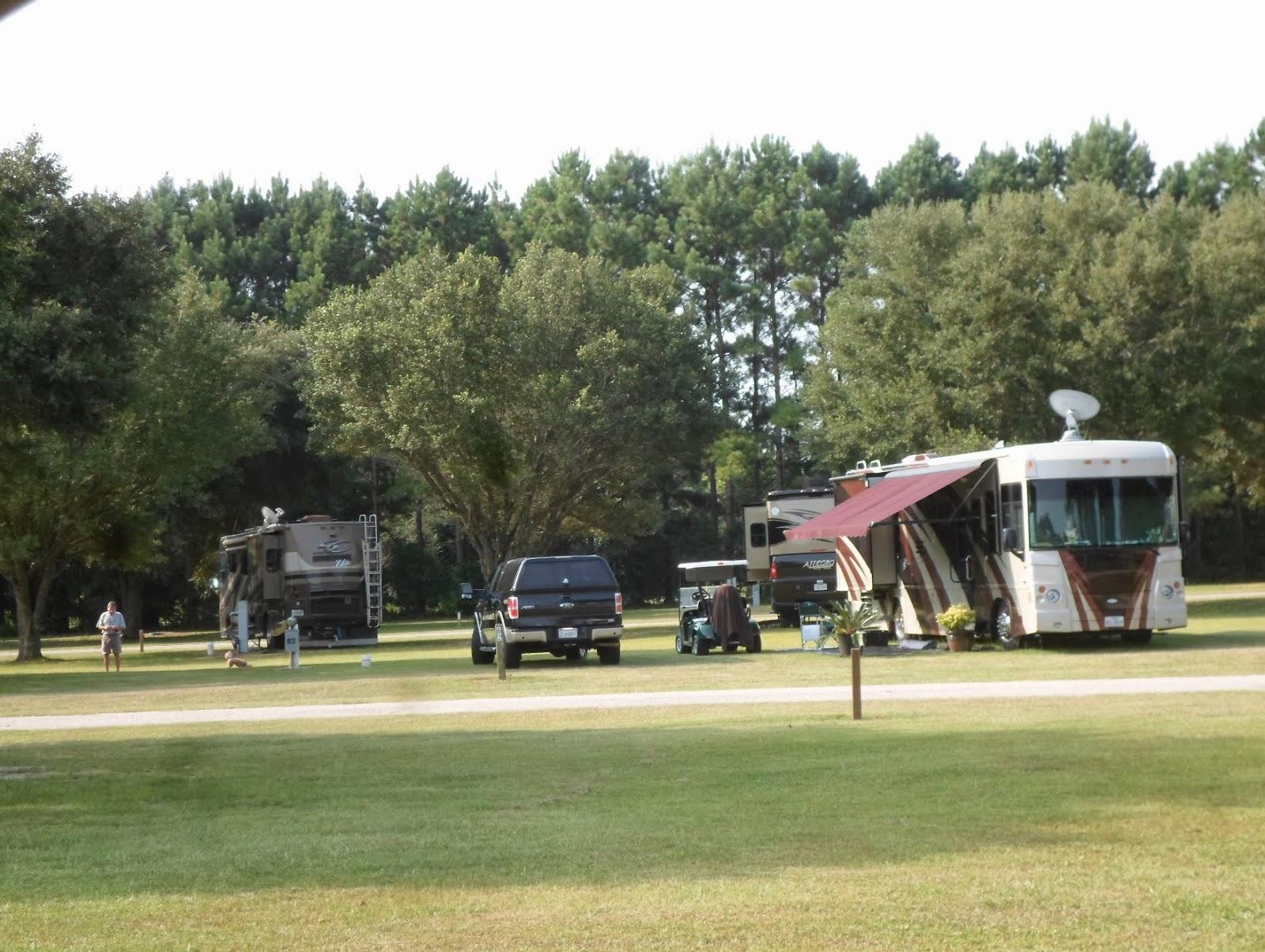 Busters Travels Lakeside RV Park Livingston Louisiana