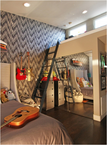 Key interiors by shinay cool dorm rooms ideas for boys for Cool kids bedroom designs