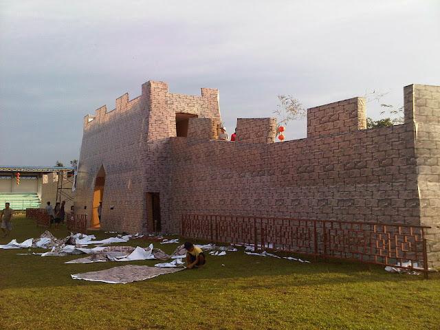 tembok besar cina di singkawang 2012
