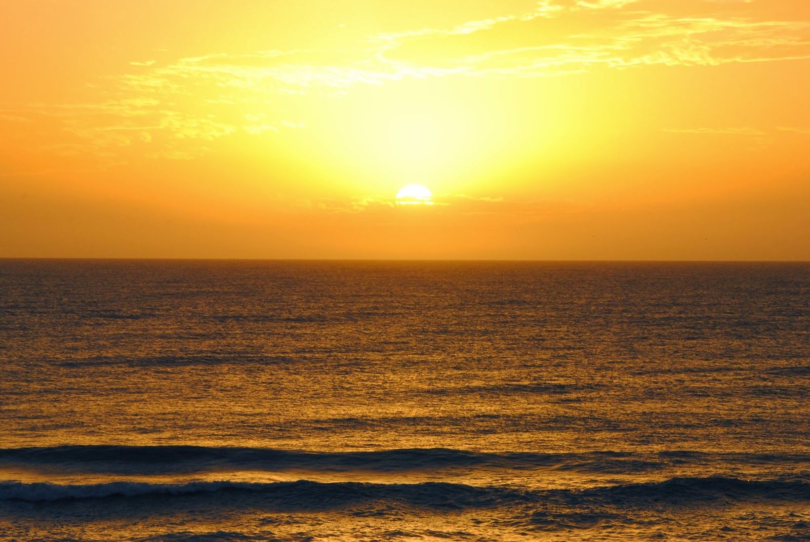 High resolution picture sunrise in villa gesell argentina