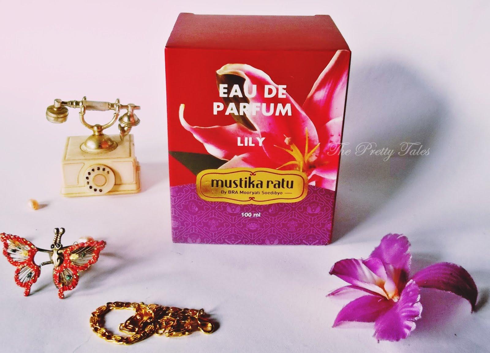 Mustika Ratu Eau De Parfum Lily Review The Pretty Tales Parfume Tube Rose