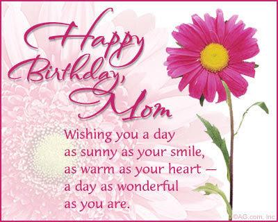 beautiful Mom Birthday Wishes