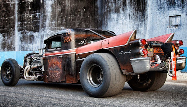 Just A Car Guy: Hot Rod finally published some cool rat rods and hot rods, 2 months after I ...