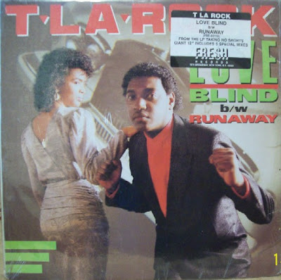 T La Rock – Love Blind / Runaway (1988, 12'') – 320 kb/s