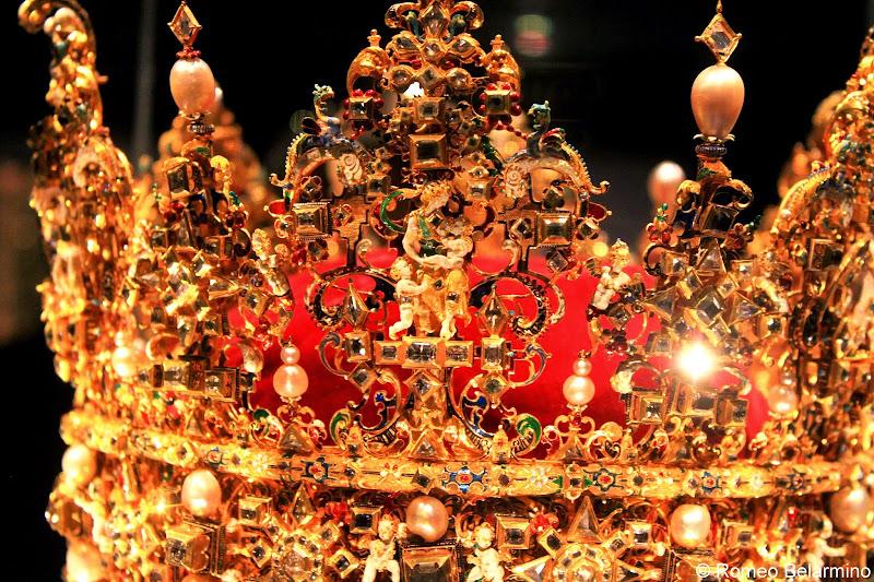 Christian IV's Crown, Rosenborg Castle, Copenhagen, Denmark