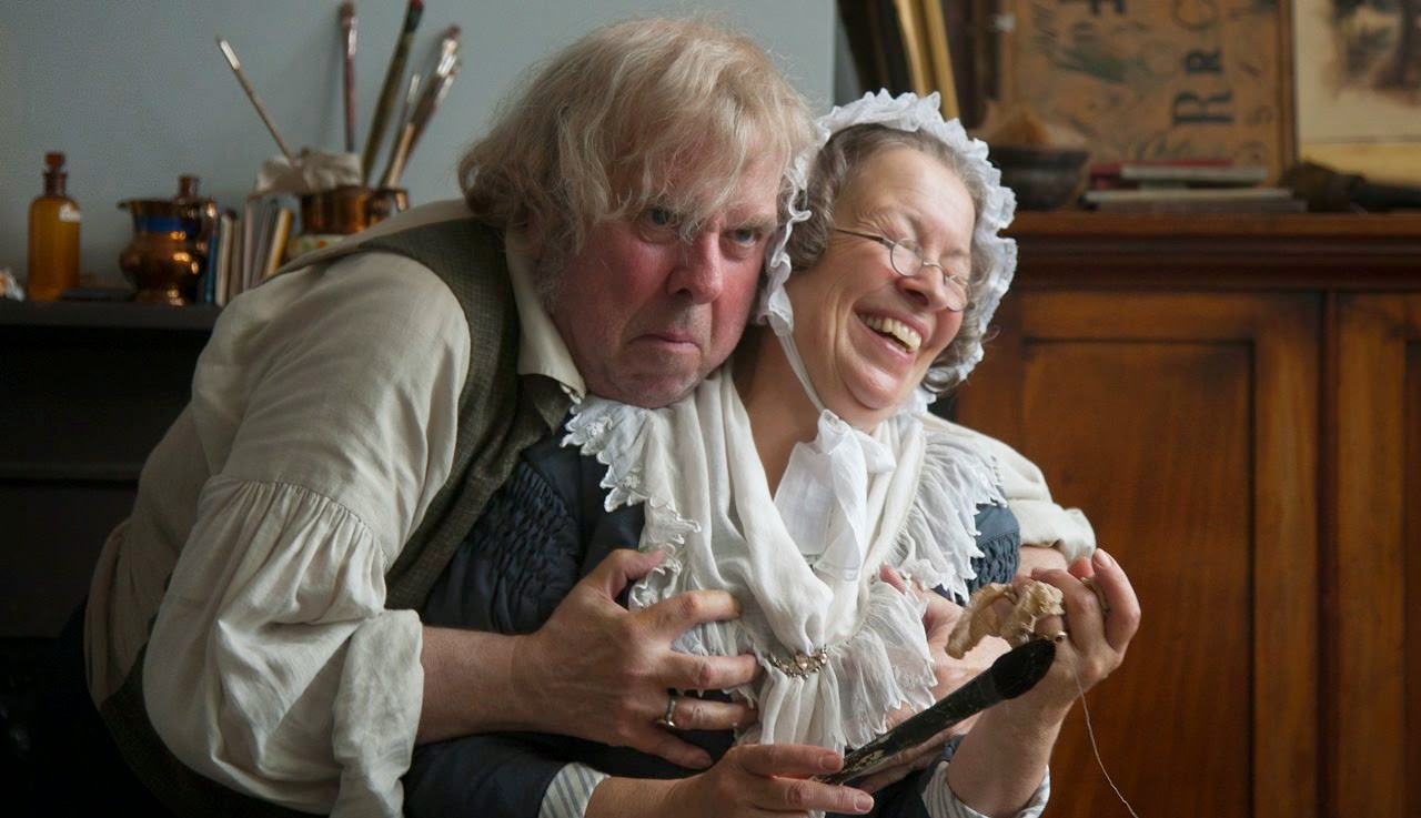 mr turner-timothy spall-marion bailey
