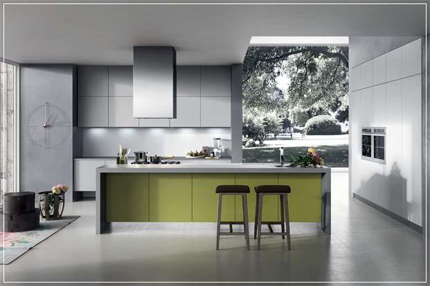 Kjøkken design med uvanlige valg   interiør inspirasjon