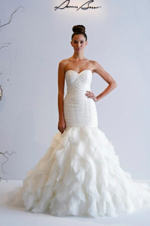 dennis basso 2013 spring bridal wedding dresses With dennis basso wedding dresses