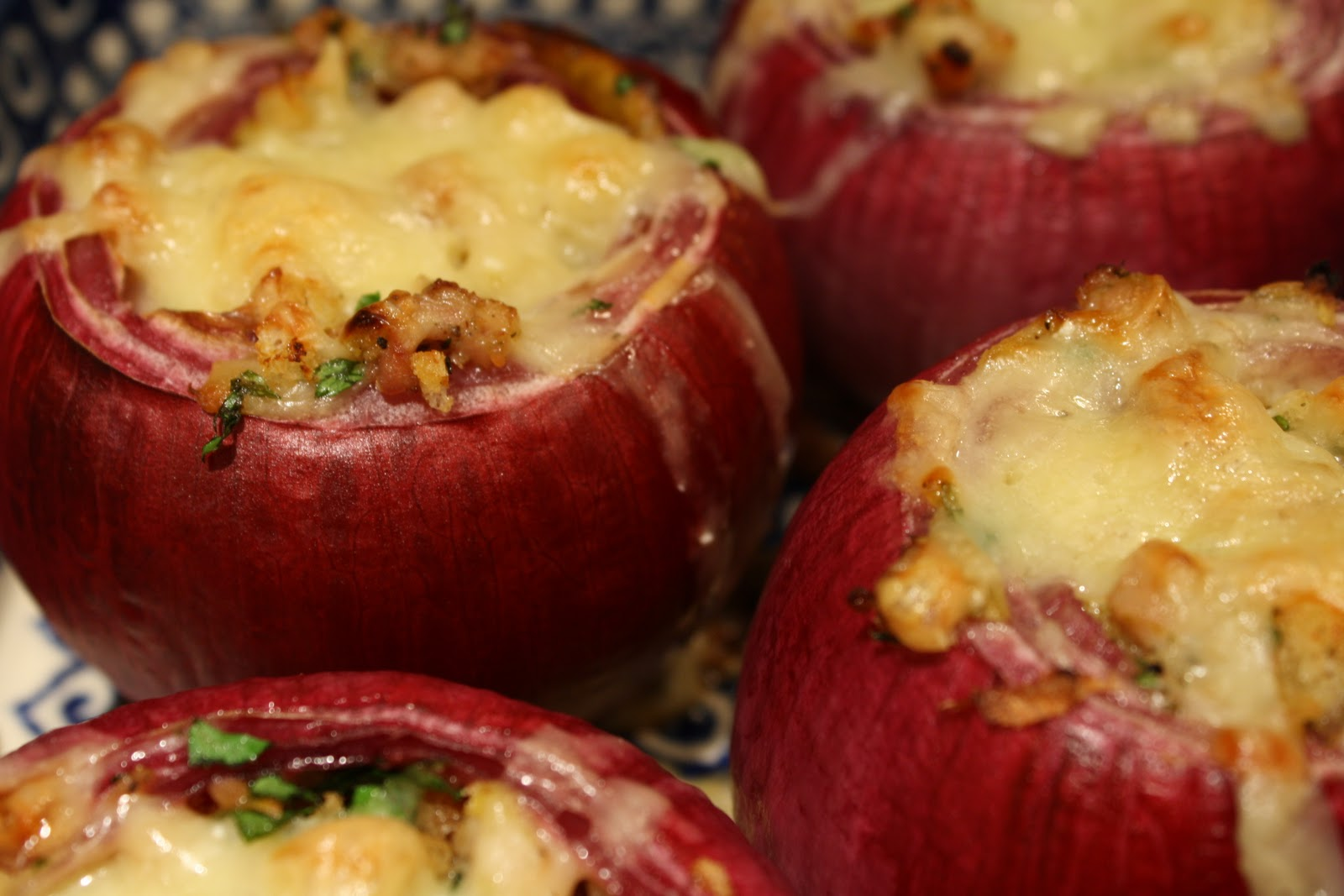 Roasted Stuffed Red Onions Recipes — Dishmaps