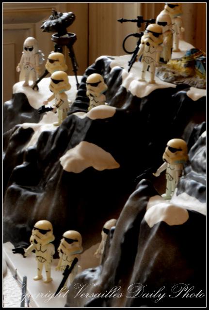 Playmobil Hoth Rebel Alliance base Versailles