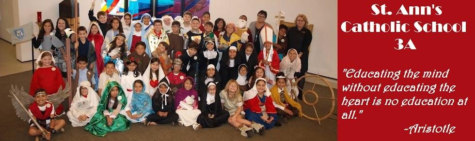 St. Ann's School 3A