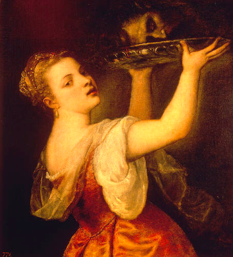 salome titien painting